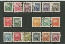 China 1947 Parcel Post Stamps P C Print Set 17 VF