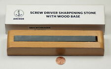 Screwdrivers EMERY SHARPENING STONE wood base tools finishing sharpener repair