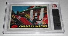 1962 Mars Attacks Charred By Martians # 14 NM-MT+ BGS BVG 8.5 Like PSA