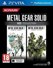 METAL GEAR SOLID HD COLLECTION TEXTOS EN ESPAÑOL NUEVO PRECINTADO PS VITA
