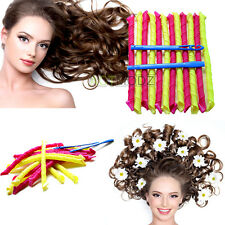 18PCS/SET DIY Magic Leverag Circle Hair Styling Curlers Roller Curls Hair Styles