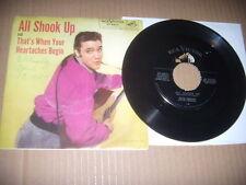 """Elvis Presley """"All Shook Up"""" Pic Slv 1957  Original  NM"""