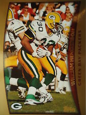 NFL 289 William Henderson Green Bay Packers TOPPS 1998