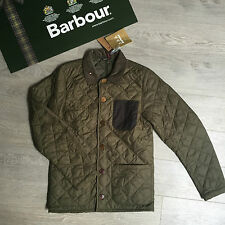 BNWT Brilliant Gents BARBOUR quilted coat jacket £89 Size S (RRP £169)
