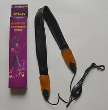 Alto Soprano Tenor Saxophone SAX Adjustable Neck Strap Leather NEW