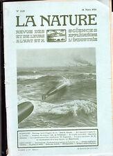 La Nature N°2129 - Mars 1914- Revue des sciences- Rouissage Bactériolique du Lin