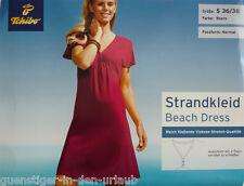 TCM Tchibo Strandkleid Kleid Strandbekleidung Damen Beere S M 36 38 NEU