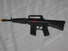 Machine Guns Military Soldier Black M-16 Toy Rifle With Sound and Sparks