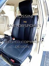 TO FIT A TOYOTA AVENSIS CAR, SEAT COVERS, YMDX 06 ROSSINI SPORTS BLACK