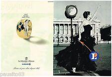 PUBLICITE ADVERTISING 095  1997  Le MANEGE à BIJOUX   joillier LECLERC ( 2p)