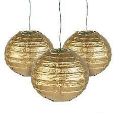 12 Gold Paper Chinese Lanterns centerpieces Wedding Party Decorations