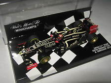1:43 Lotus f1 TEAM RENAULT e20-R. GROSJEAN - 2012 410120010 Minichamps