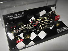 1:43 LOTUS F1 TEAM RENAULT E20 - R. Grosjean - 2012 410120010  MINICHAMPS
