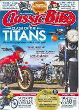 6 Copies of Classic Bike Magazine : Issues January to June 2014 (NEW COPIES)
