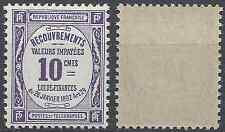 FRANCE TIMBRE TAXE N°44 - NEUF ** LUXE GOMME D'ORIGINE