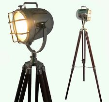 Floor Lamp home Decorative Vintage Design Tripod Lighting Searchlight Spot light