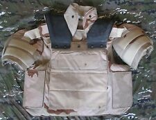 GENUINE US DCU/DESERT GATOR HAWK INTERCEPTOR BODY ARMOUR/OTV. LARGE-REGULAR.