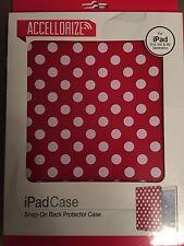 Red Polka Dot iPad 2 3 4 Case / Skin