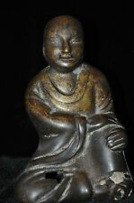Antique Chinese Bronze Buddha Statue 18/19th Century