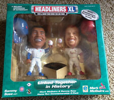 Mark McGwire & Sammy Sosa Figurines Linked Together in History by Headliners XL