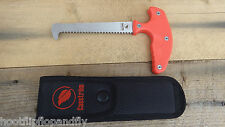 CASSTROM  NUMBER 11 ORANGE HANDLED SHORT BLADE FIELD SAW GAME BRANCHES BUSHCRAFT