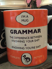 DODO BOOK MUG - GRAMMAR, THE DIFFERENCE BETWEEN... - NEW POST WORLDWIDE
