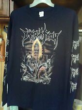 IMMOLATION- SHIRT HERE IN AFTER STEPPING ON ANGELS BEFORE DAWN OF POSSESSION