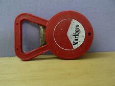 marlboro bottle opener and stoper 2 in one metal & plastic vintage