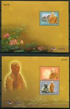 THAILAND 2011 Buddhistischer Mönch Blocks **