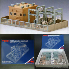 Tomix Structure N Gauge Electrical 4023 Substation / Scale 1/150 / Kit Type