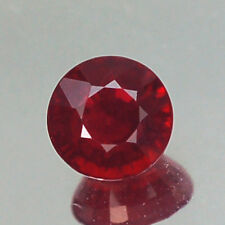 EXCEPTIONAL VVS 4.7MM ROUND PIGEON BLOOD RED RUBY NATURAL