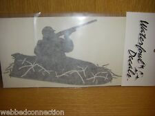Waterfowl Decal Decals Geese Goose Decoy Hunting Blind Hunter in Layout