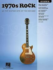 NEW 1970s Rock : Easy Guitar with Notes and Tab (2010, Paperback) Book