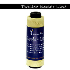 EMMAKITES 1000ft 100lb Twisted Kevlar String For Fishing Camping Rocketry