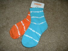 Gymboree Tropical Bloom Tie Dye Socks 2pk Size 12-18 18-24 mos NWT NEW Baby Girl