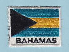 SCOUT OF WEST INDIES - BAHAMAS SCOUTS NATIONAL FLAG EMBLEM Patch