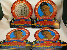 FANTASTIC SAMS BASEBALL STORE DISPLAY SIGNS SPARKY ANDERSON LOT 4 VINTAGE 1988