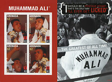 Grenada 2007 MNH Muhammad Ali Greatest of All Time 4v M/S II Boxing Stamps