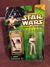 STAR WARS LEIA ORGANA ( POWER OF THE JEDI ) 2000 MINT COLLECTABLE ACTION FIGURE