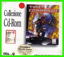 TIME COMMANDO pc cd rom ITALIANO tomb raider NUOVO SIGILLATO