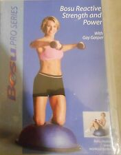Bosu Reactive Strength & Power Workout Gay Gasper DVD Fitness Exercise Circuit