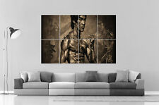 BRUCE LEE ART OF WING CHUN 02  Wall Art Poster Grand format A0 Large Print