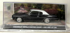 Eon 1/43 Scale James Bond 007 Chevrolet Impala Custom Live & Let Die Diecast car