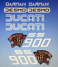 DUCATI DARMAH SS900 SSD900 DECAL SET