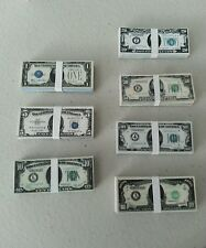 1/6 scale 1930's stacks & loose money bills for GI Joe 12 inch figures Gangsters