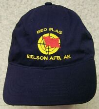 Embroidered Baseball Cap Military USAF Red Flag Alaska NEW 1 hat size fits all