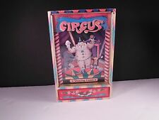 Dancing Clown Music Box Send in the Clowns Circus Stash Drawer VG Working