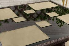 Pierre lot de 4 sous-verres outdoor alfresco imperméable jardin salle à manger tissu