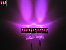 50pcs, 5mm Pink / purple Round Bright Water Clear LED Leds Light Lamp   50pcs