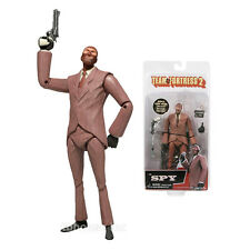 THE SPY figure TEAM FORTRESS 2 limited edition RED neca SERIES 3 with BONUS CODE